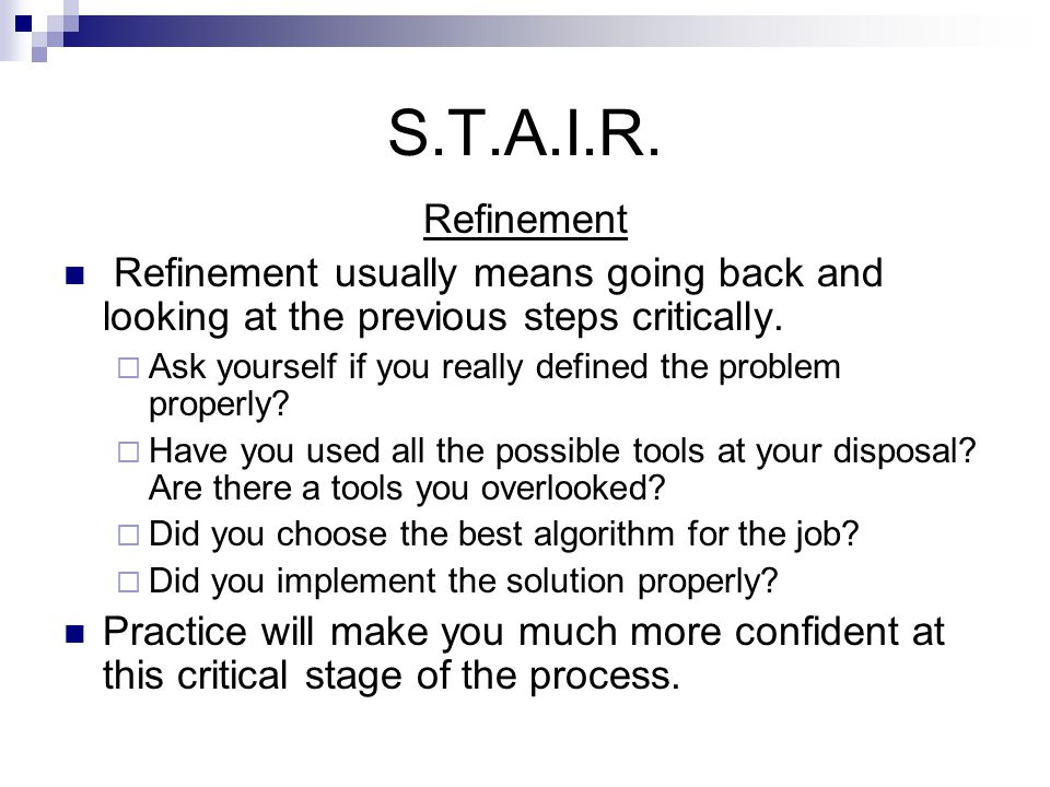 S.T.A.I.R.