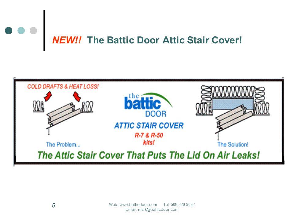 Web: www.batticdoor.com Tel. 508.320.9082 Email: mark@batticdoor.com 5 NEW!.