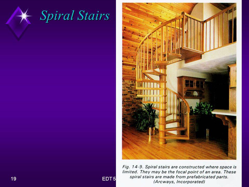 19EDT 51-Stair Design Spiral Stairs