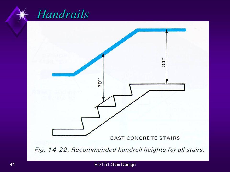 41EDT 51-Stair Design Handrails