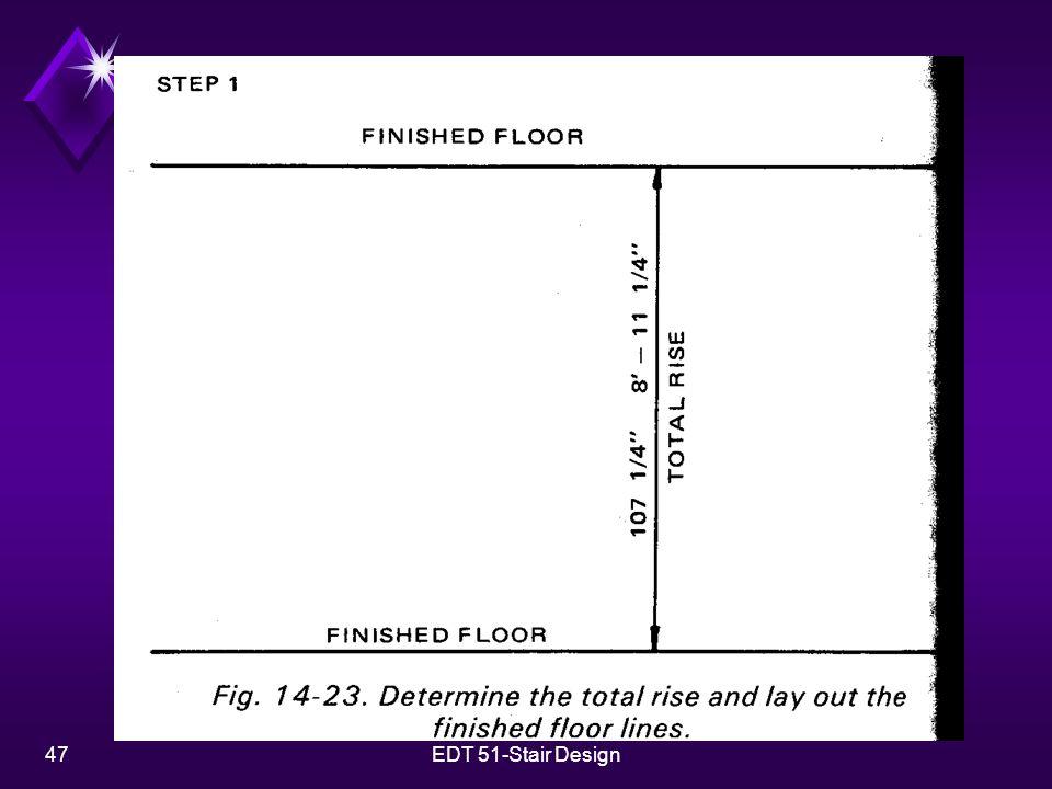 47EDT 51-Stair Design