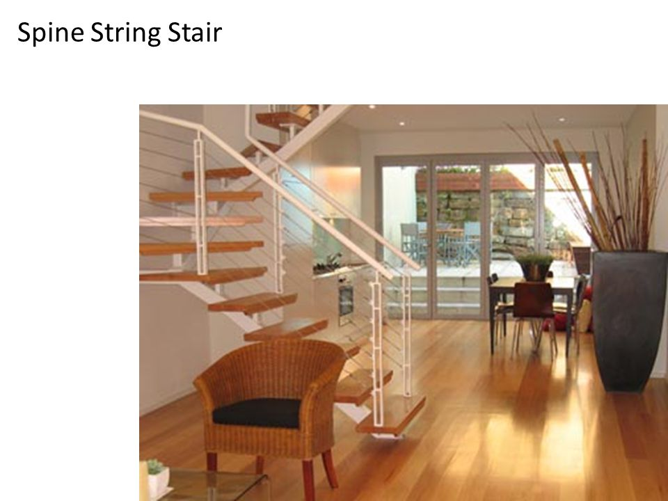 Spine String Stair
