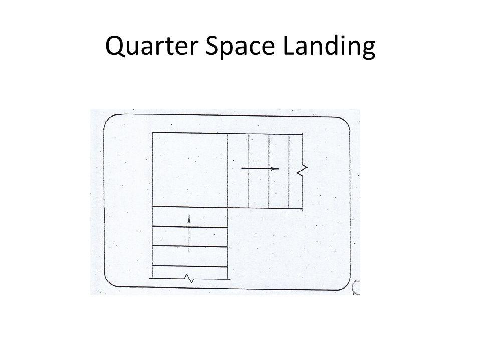 Quarter Space Landing