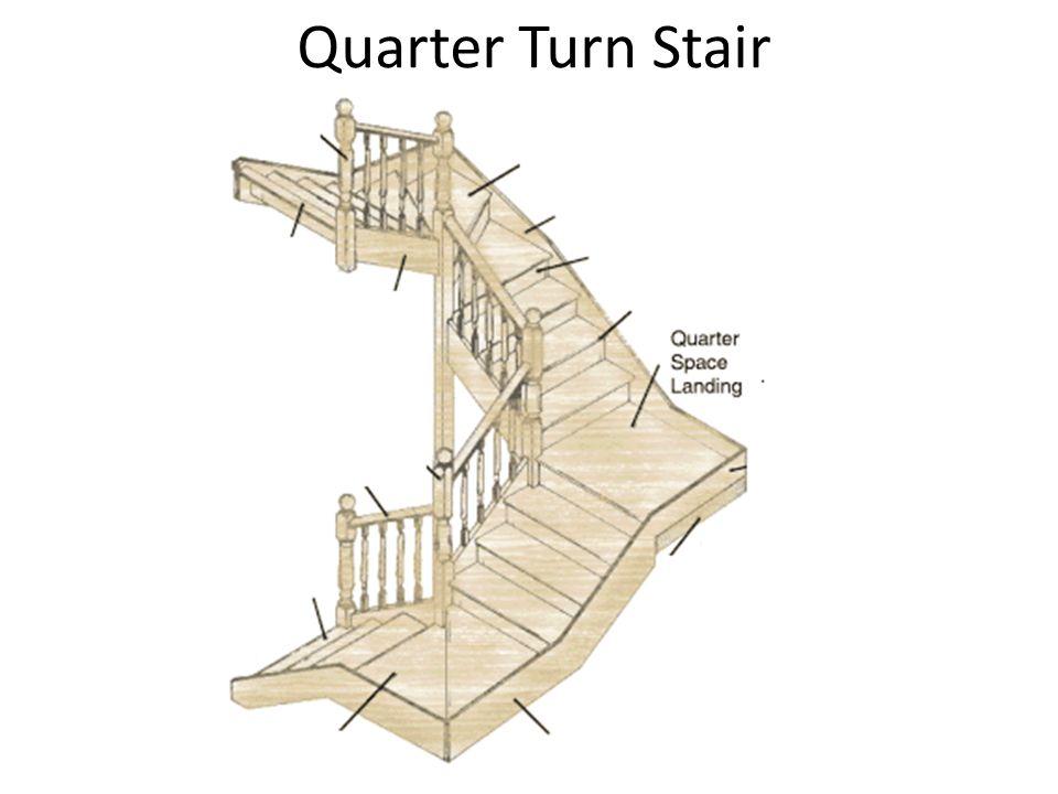 Quarter Turn Stair
