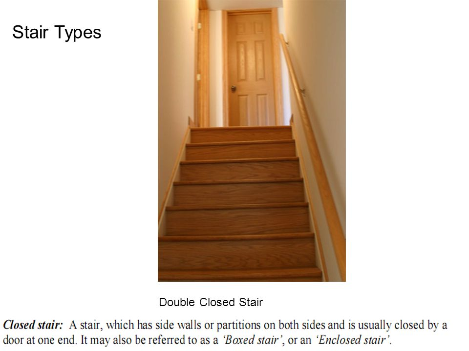 Double Closed Stair Stair Types