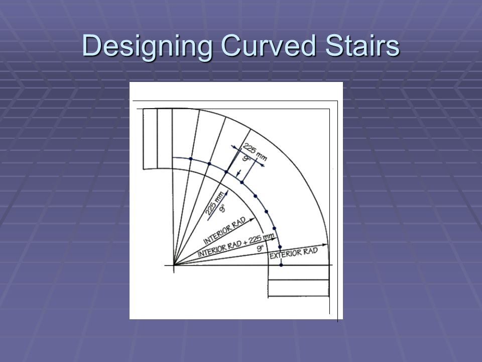 Designing Curved Stairs