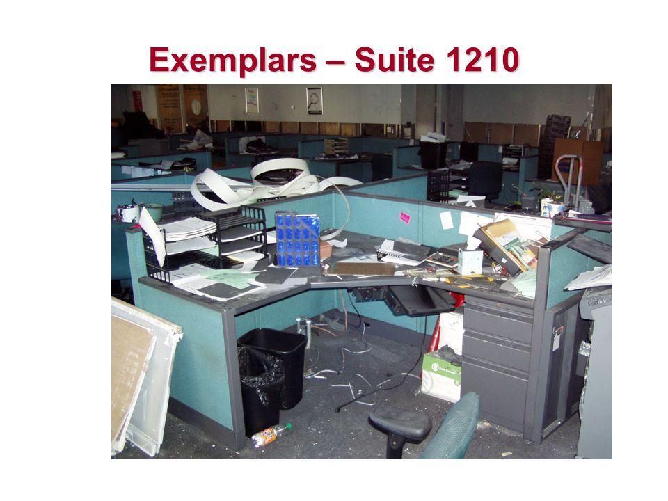 Exemplars – Suite 1210