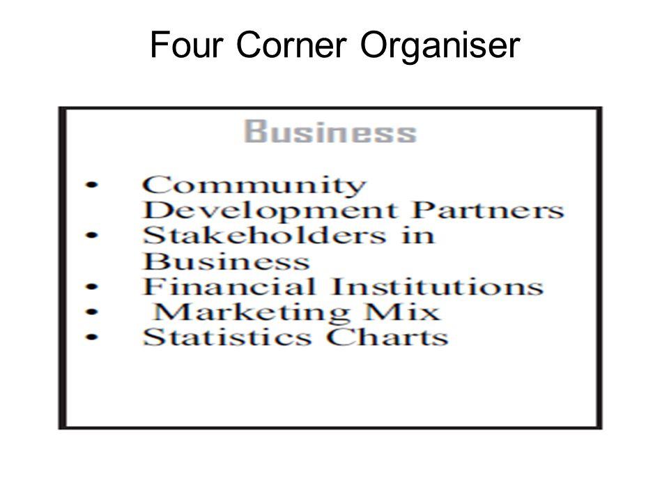 Four Corner Organiser