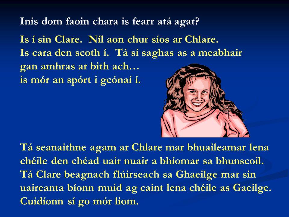 A Mhéabh, cad iad na cáilíochtaí a bhíonn le sonrú i múinteoir maith, dar leatsa.