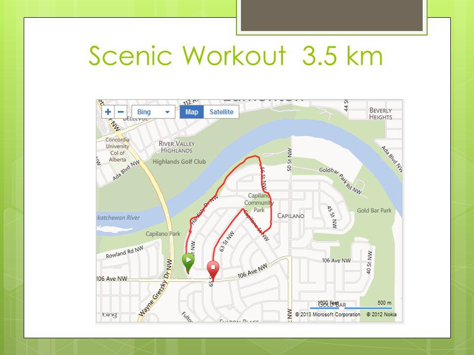 Scenic Workout 3.5 km