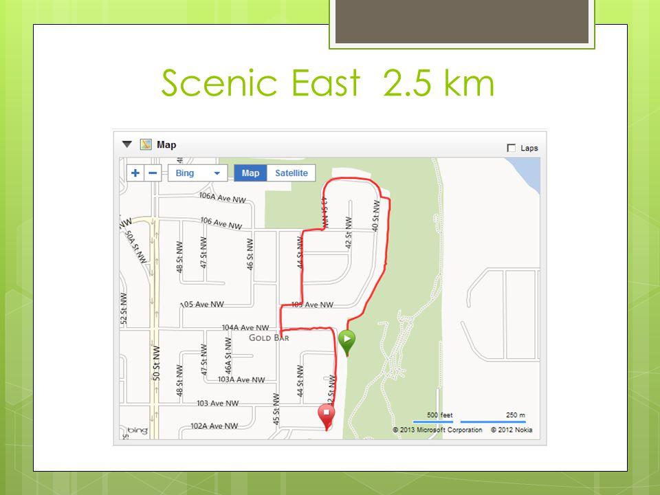 Scenic East 2.5 km