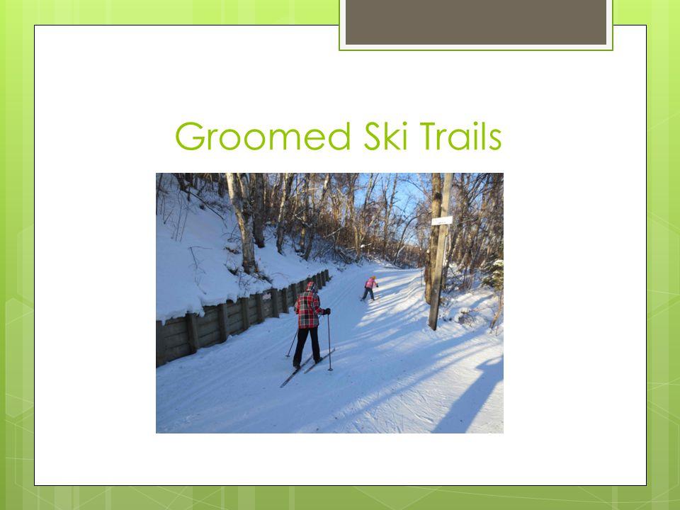 Groomed Ski Trails