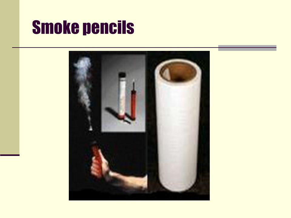 Smoke pencils