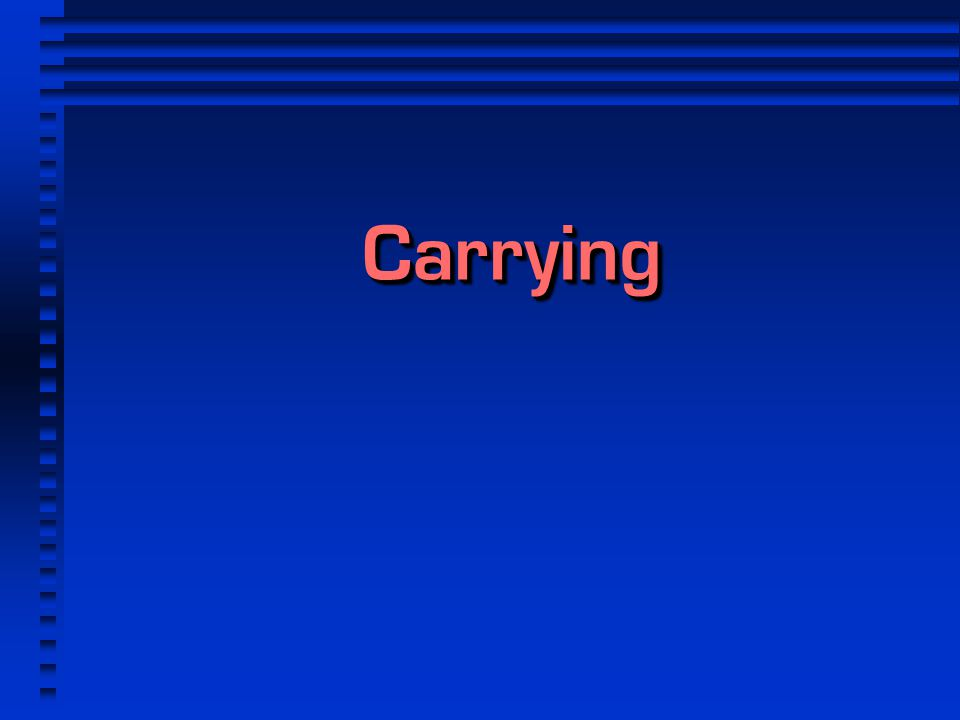 CarryingCarrying