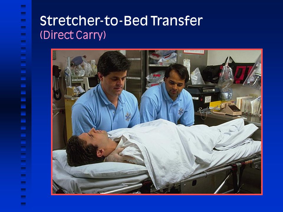 Stretcher-to-Bed Transfer (Direct Carry)