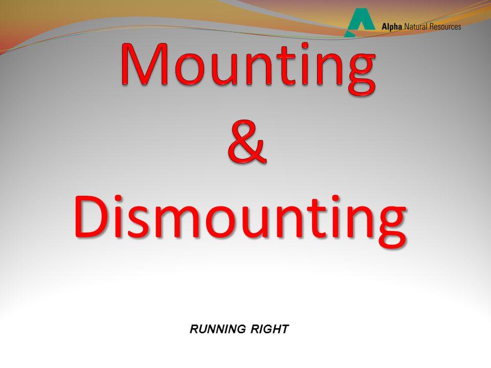 Dismounting RUNNING RIGHT