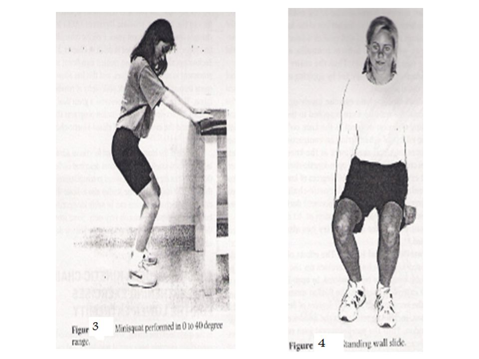 Lunges Lunges should be used later in a rehabilitation program to facilitate eccentric strengthening of the quadriceps to act as a decelerator (Figure 5).