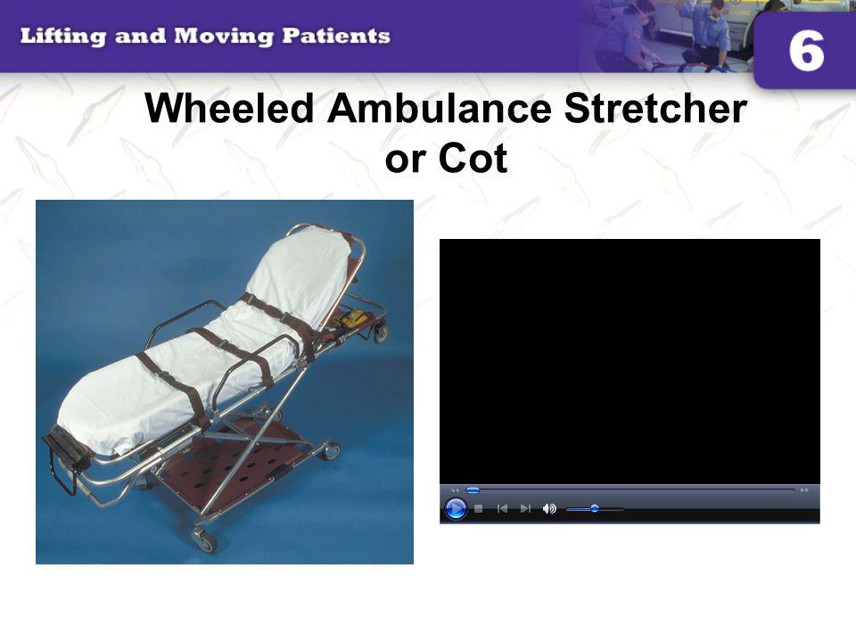 Wheeled Ambulance Stretcher or Cot