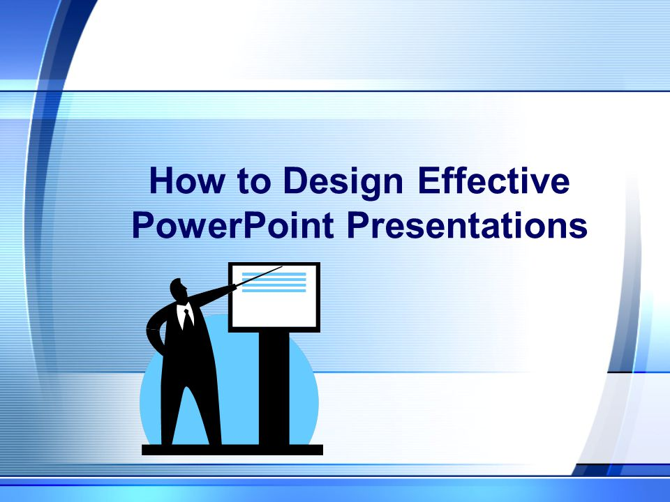 Preparing Presentations Use a design template so you can focus on content Use PowerPoint interactively Outline the lecture using PowerPoint Use text sparingly The Joy of Six – max of six points & six words per point