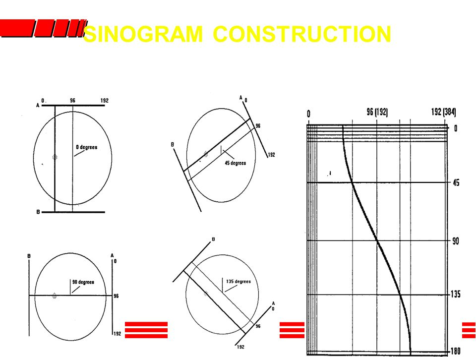 SINOGRAM CONSTRUCTION