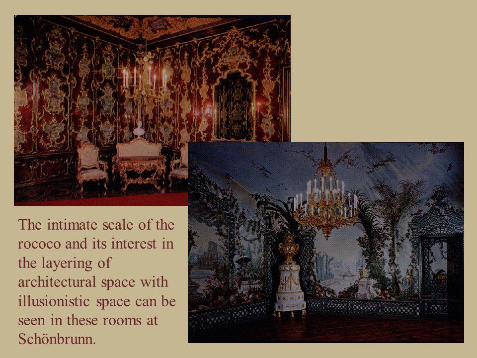 The Belvedere Palace of Prince Eugene of Savoy 1721-23 by Johan Lukas von Hildebrandt