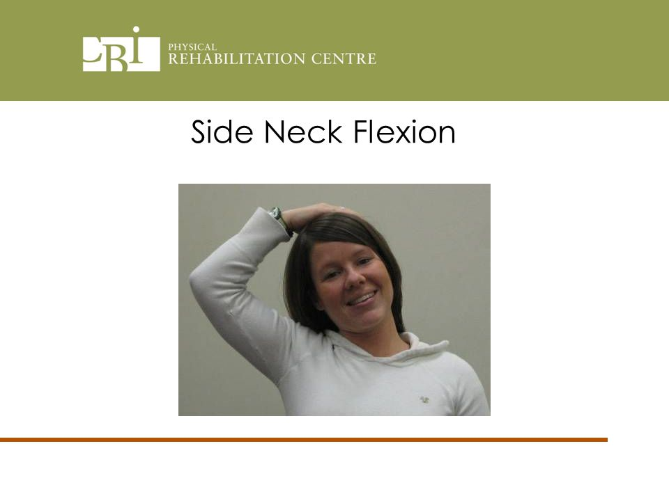 Side Neck Flexion