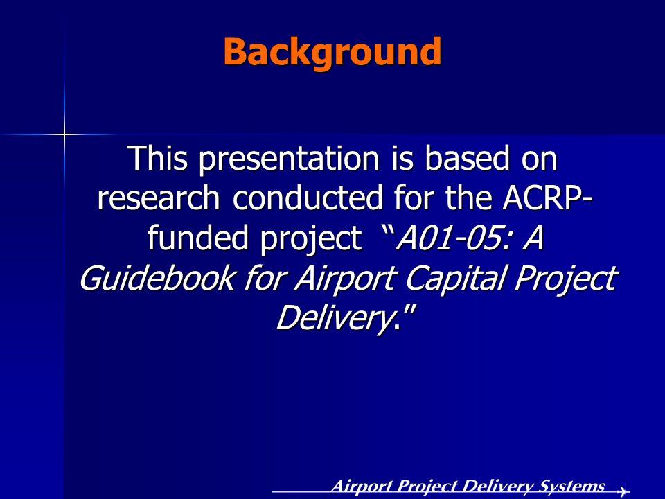 Project Team Ali Touran, Northeastern Univ., P.I.Ali Touran, Northeastern Univ., P.I.