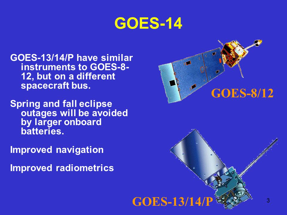 4 GOES-O Science Test web page: http://rammb.cira.colostate.edu/projects/goes-o/ GOES-14 von Karman vorticies