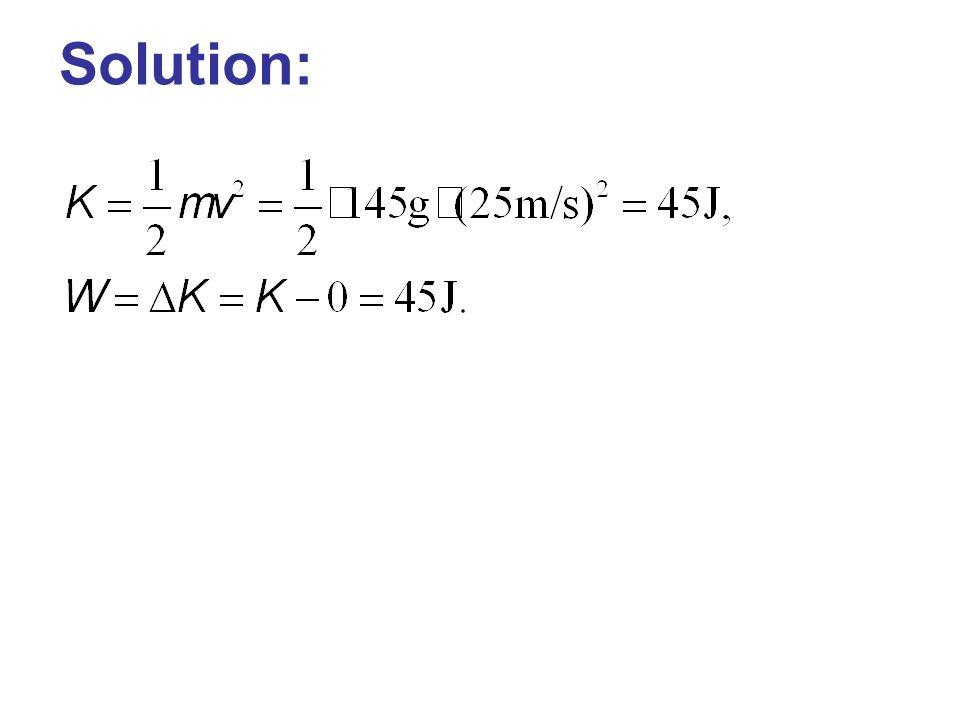 Solution: