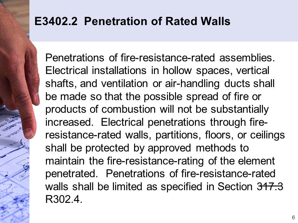 37 E3902.11 Arc-Fault Protection E3902.11 Arc-Fault Circuit-Interrupter Protection.