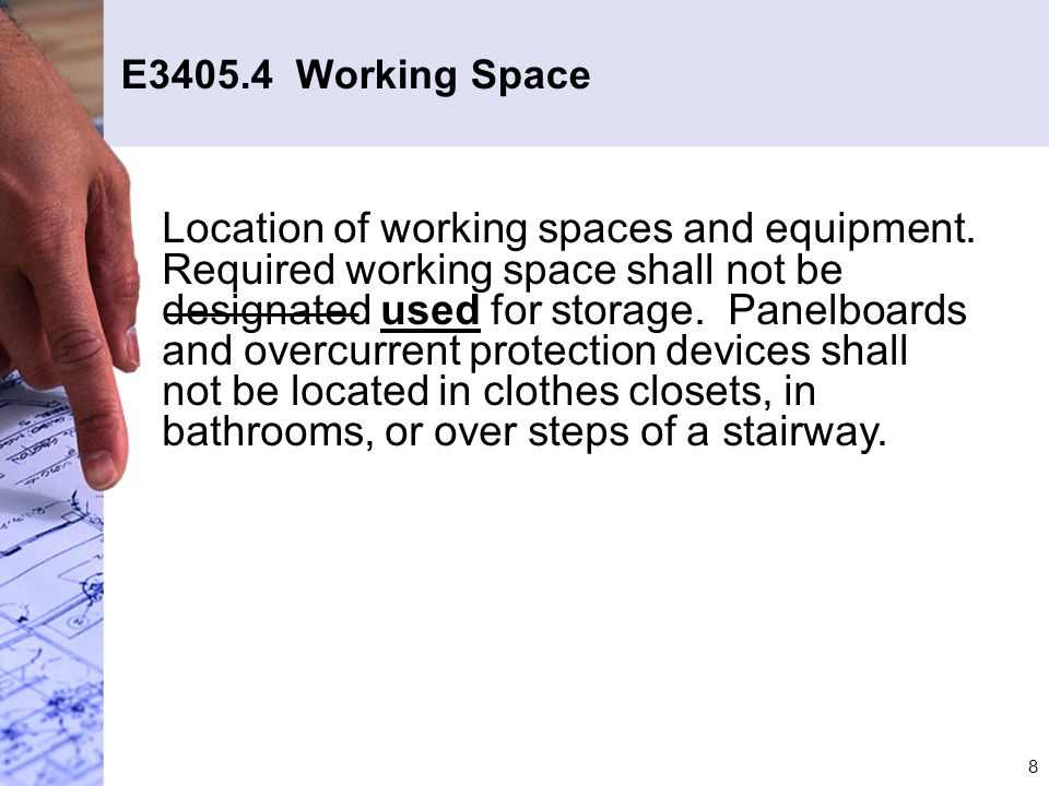 59 G2408.2.1 & G2408.6 Appliance Installation in Garages Elevation of the ignition source is not required for gas-fired appliances installed in an enclosed space that does not open into the garage.