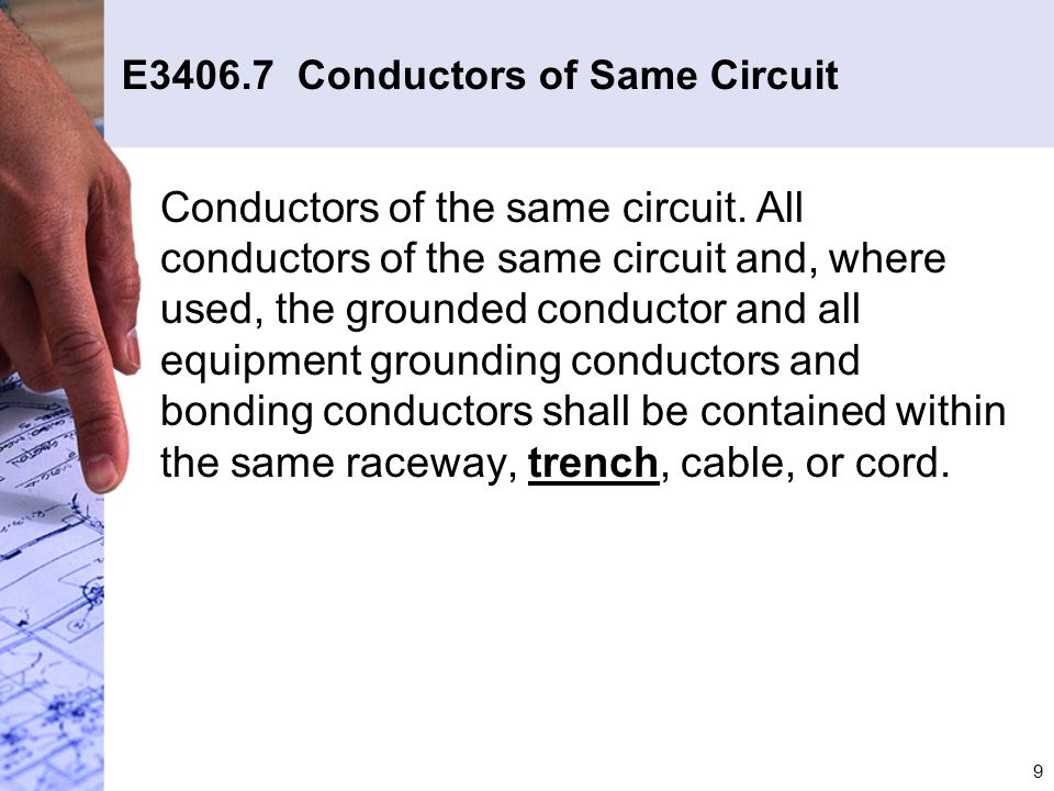 20 E3607.3 Grounding for Buildings Supplied by Feeders (con't)