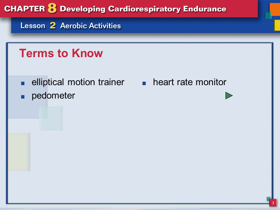 3 Terms to Know elliptical motion trainer pedometer heart rate monitor