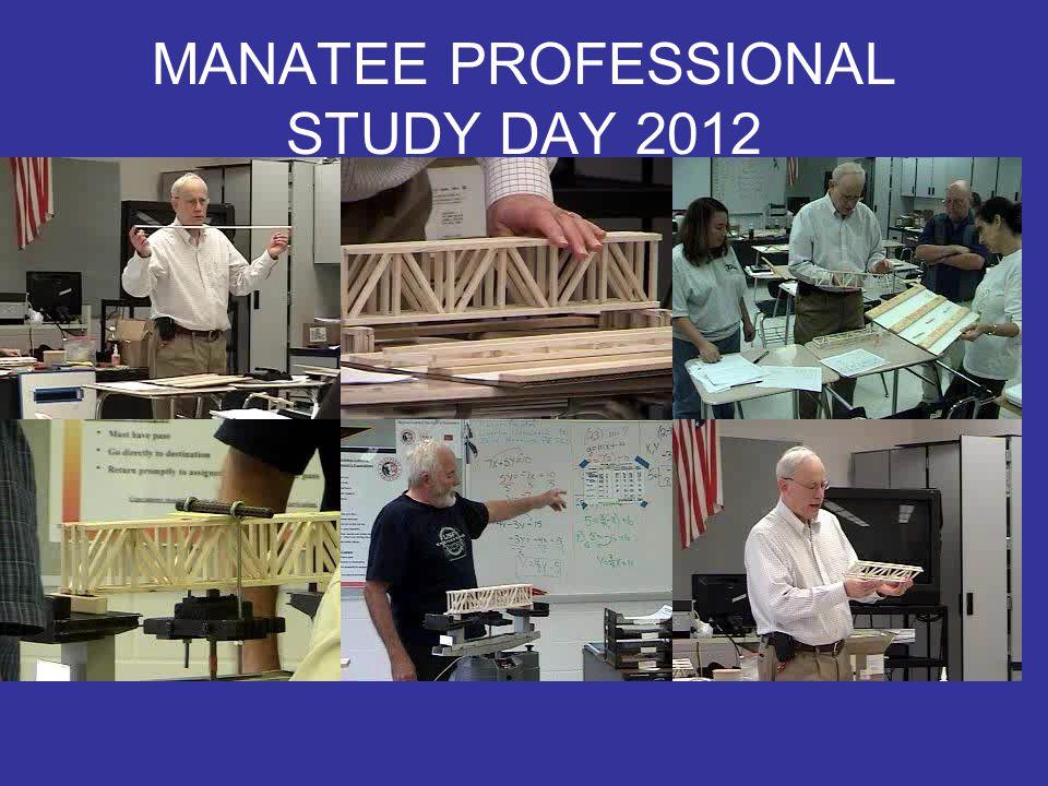 MANATEE PROFESSIONAL STUDY DAY 2012