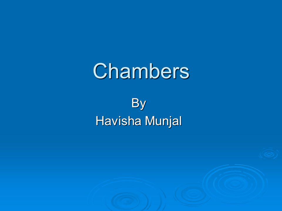 Chambers By Havisha Munjal