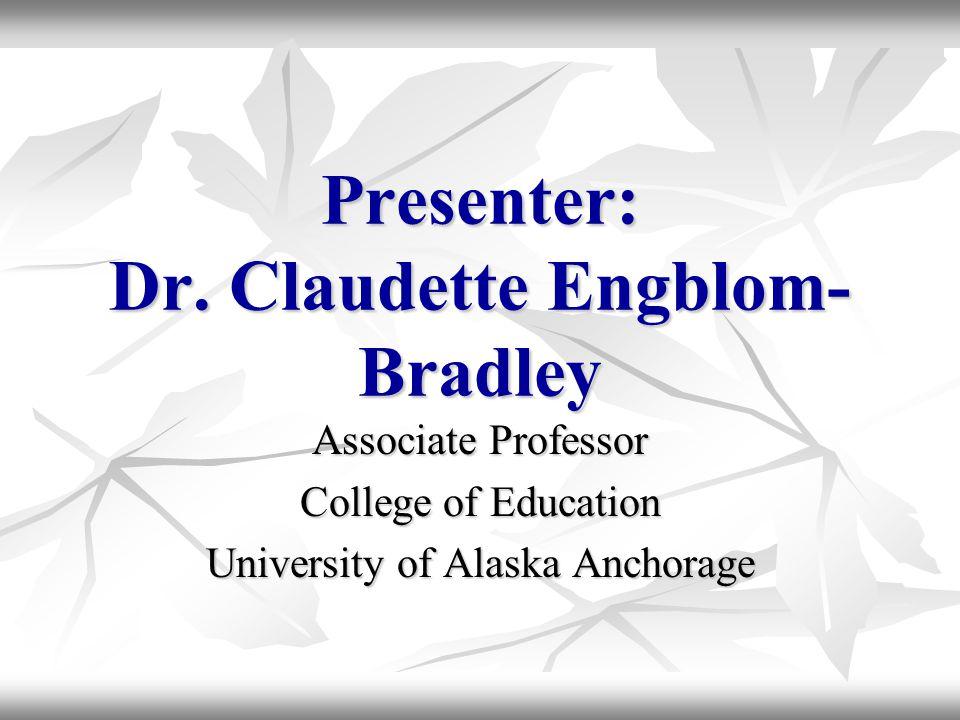 Presenter: Dr.