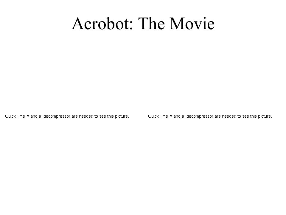 Acrobot: The Movie