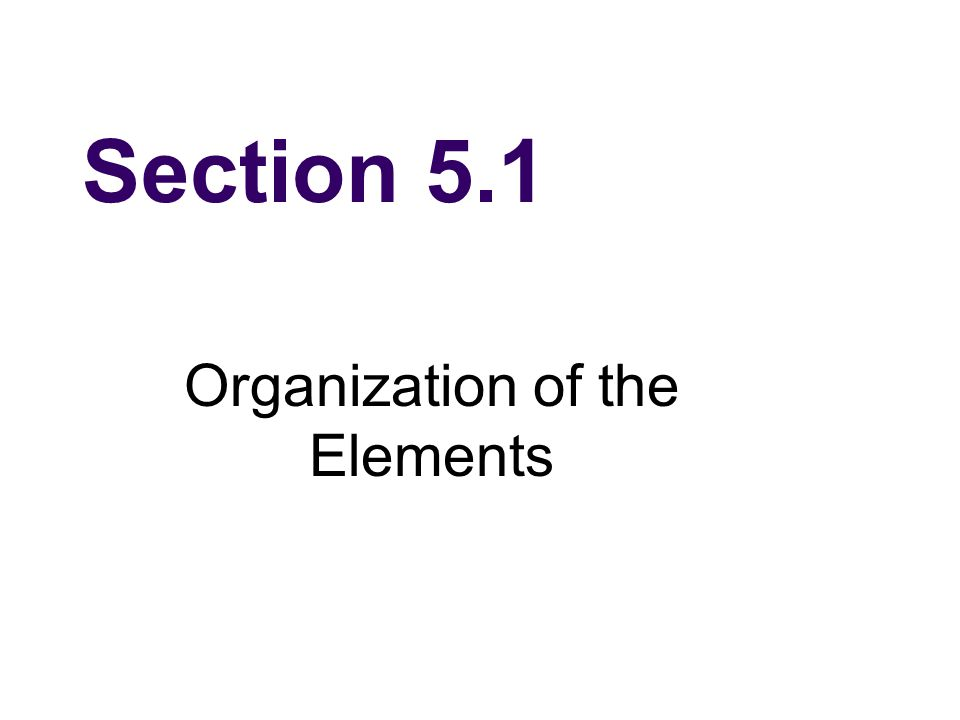 Section 5.3 Representative Groups The Elements Hip Hop Classroom