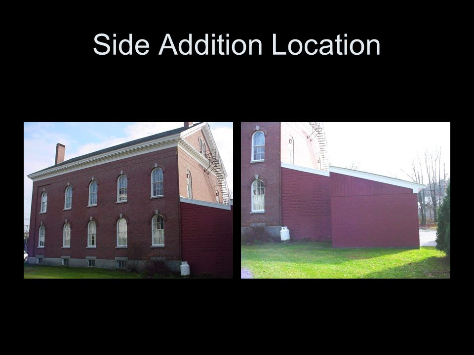 Side Addition Location
