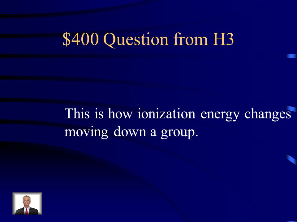 $300 Answer from H3 It increases.