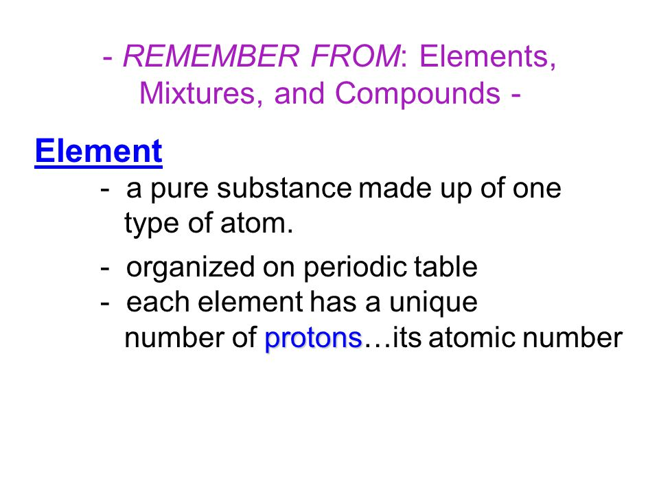 Atomic Structure: Atoms contain three subatomic particles… 1.