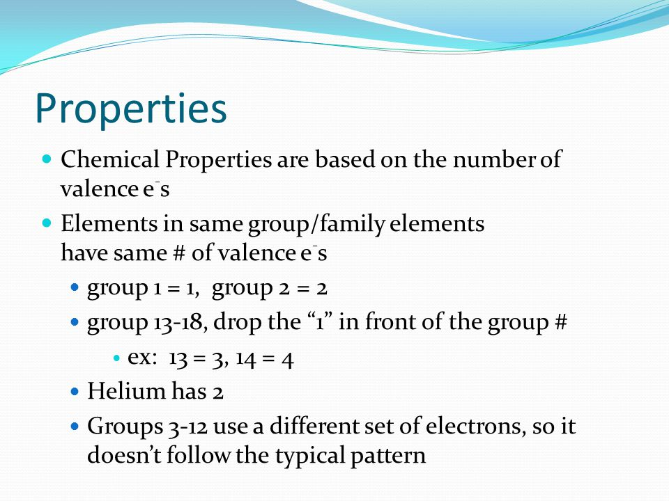 Groups 3-12 Transition Metals normal metals have one to ten outer shell electrons