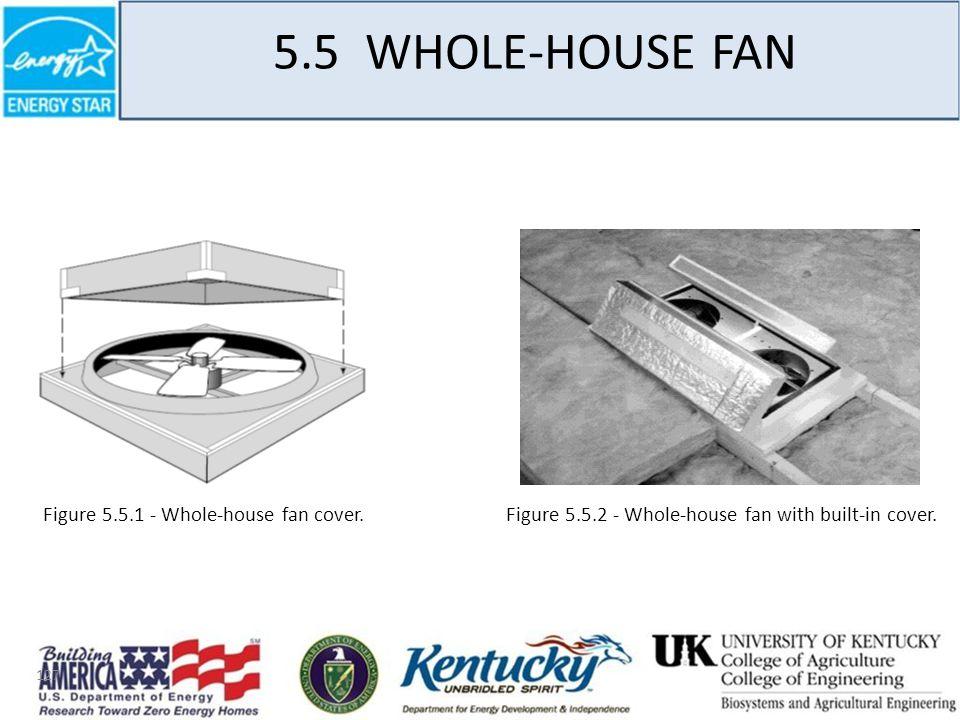 127 5.5 WHOLE-HOUSE FAN Figure 5.5.1 - Whole-house fan cover.