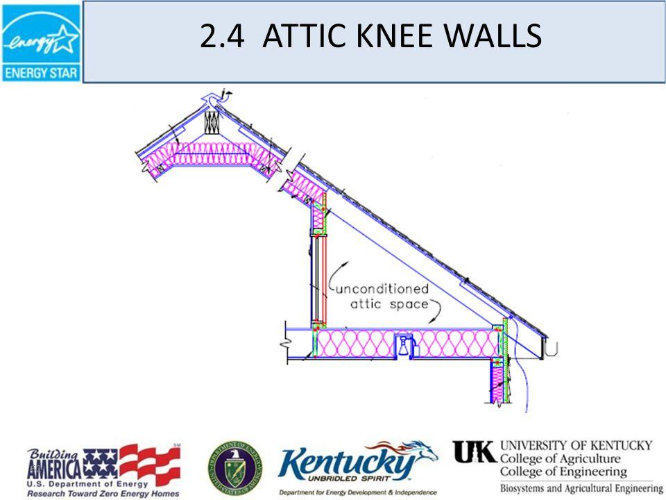 62 2.4 ATTIC KNEE WALLS