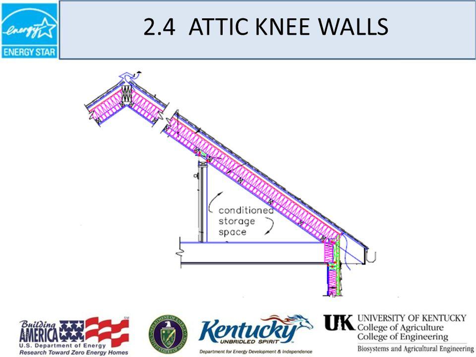 63 2.4 ATTIC KNEE WALLS