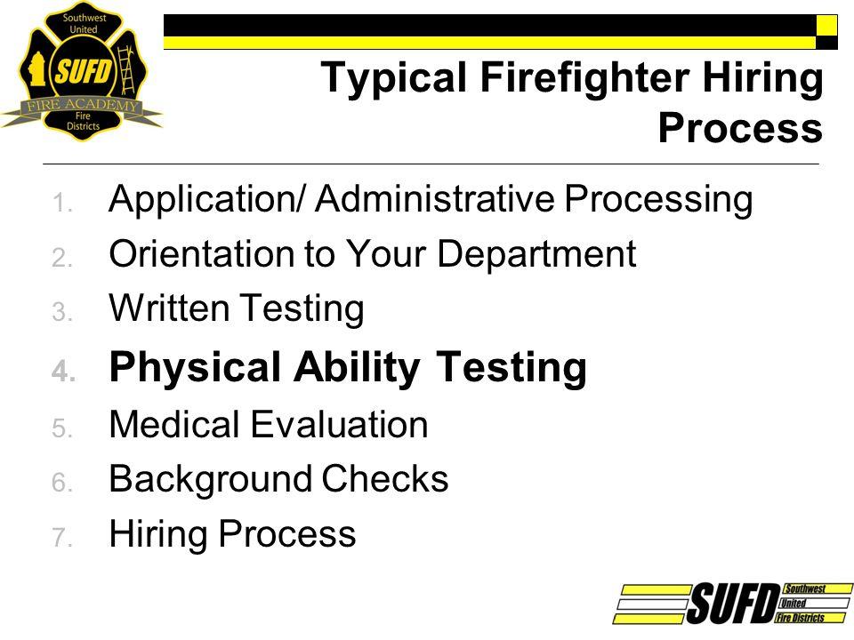 Candidate Testing Program 1.
