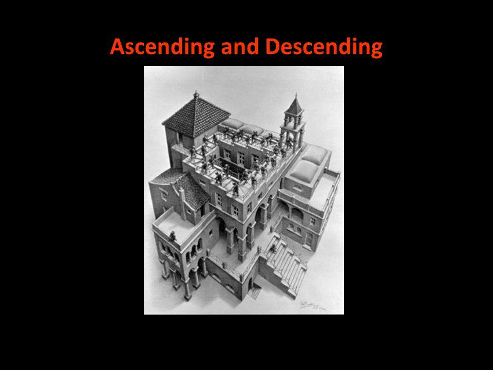 Ascending and Descending