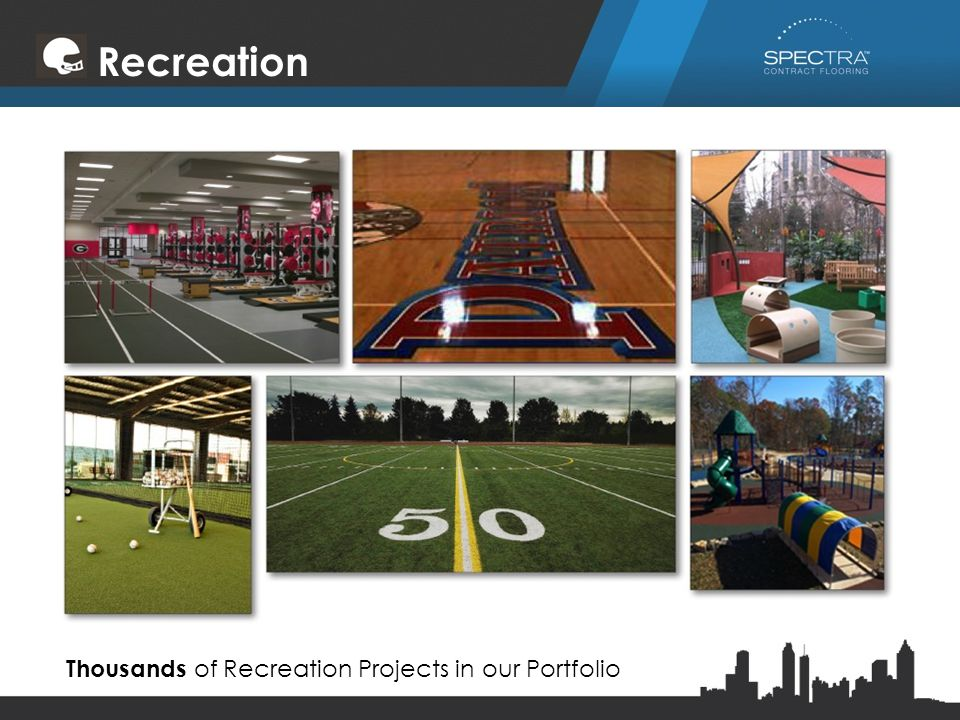 Recreation Thousands of Recreation Projects in our Portfolio