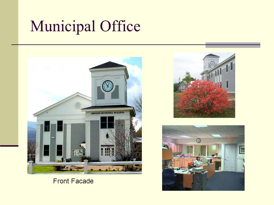 Municipal Office Front Facade