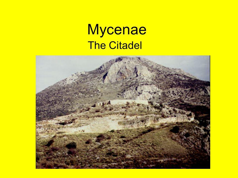 Mycenae The Citadel